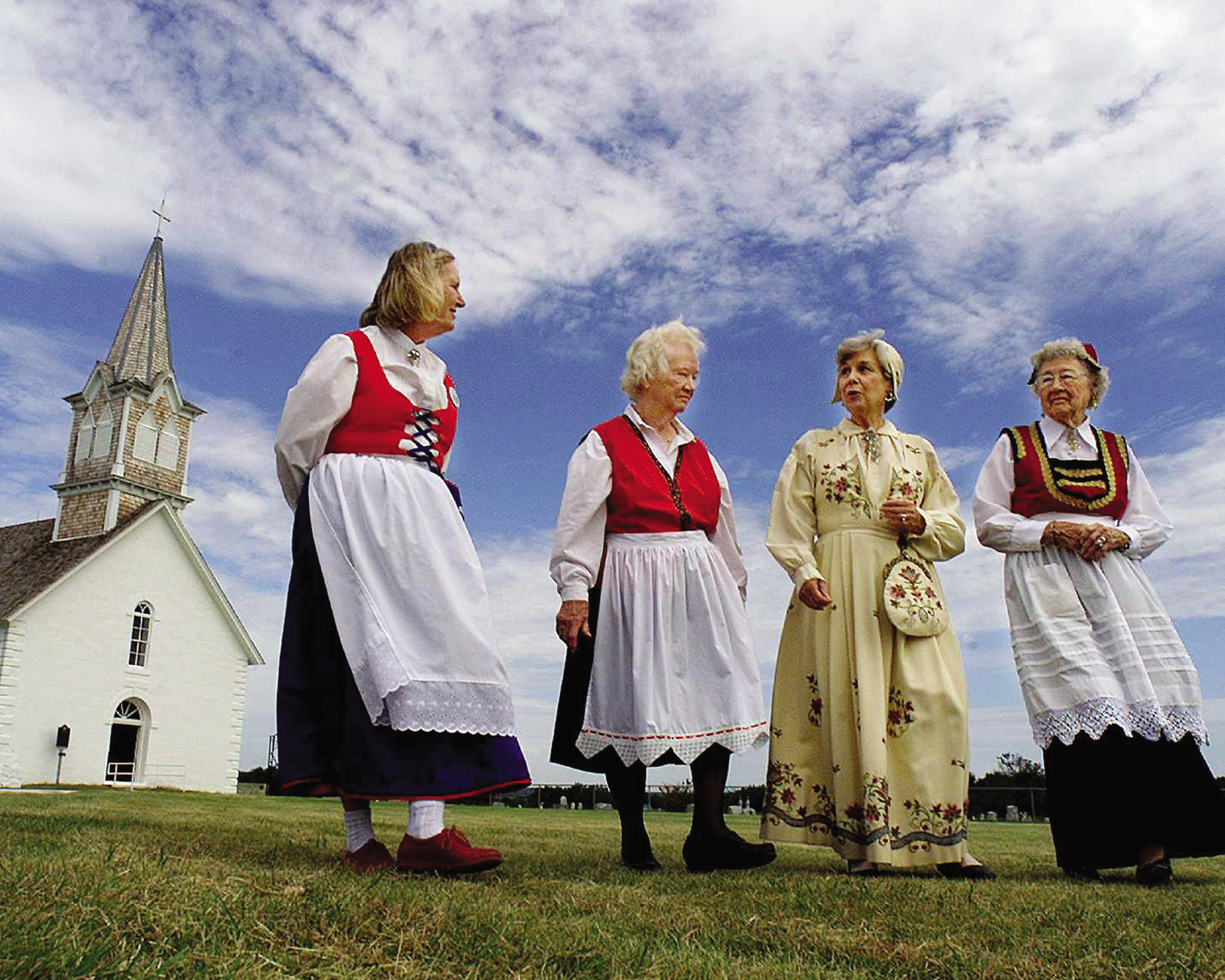 Norwegian Culture in Texas Through this initiative, the rich cultures of Texas are preserved and protected. Communities learn how to present their heritage to visitors through exhibits, festivals, brochures, etc. Credit: Fort Worth Star-Telegram