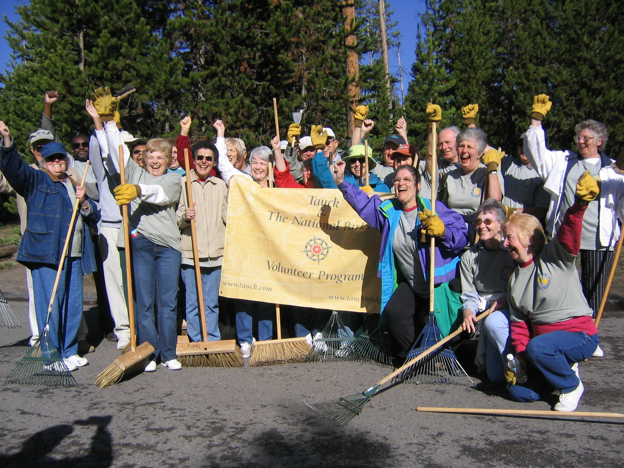 "The Tauck program is a true ""win-win"" proposition. Yellowstone National park benefits in obvious ways, but the program also has deep meaning to its participants. In a survey of guest-volunteers, 86% said that volunteering enhanced their Tauck vacation, and 94% said they would volunteer again if given the opportunity."