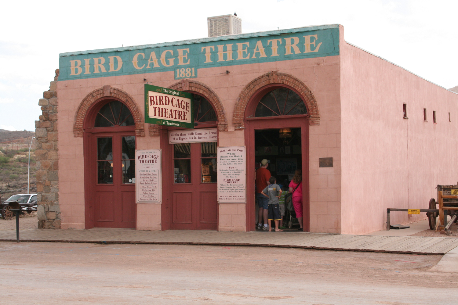 Historic Birdcage Theater in Tombstone, Arizona