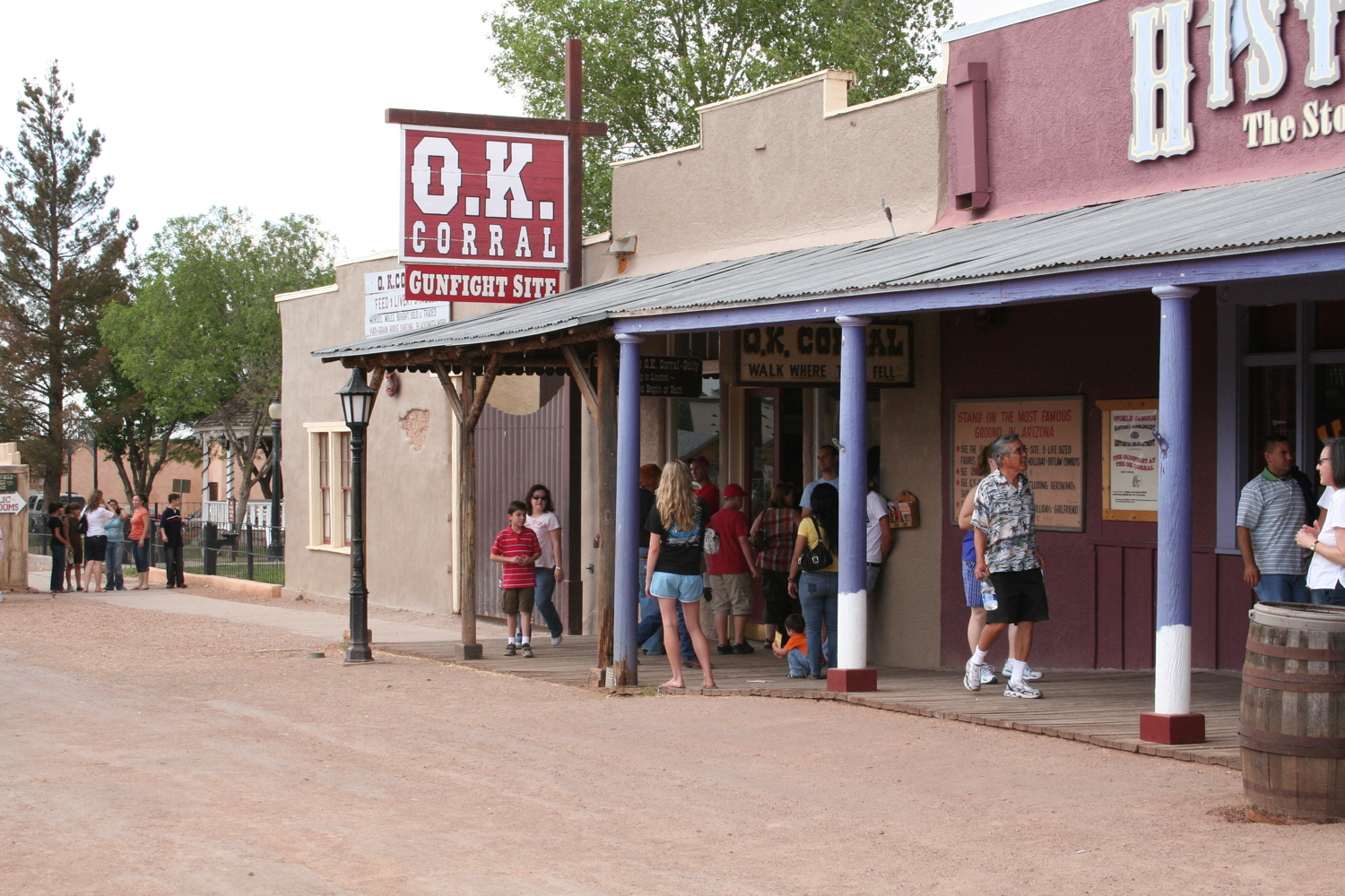 OK Corral, Tombstone, Arizona