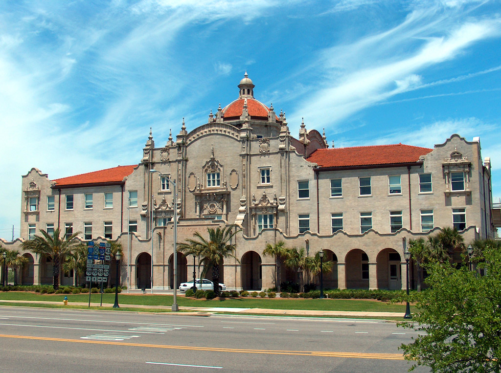 Restoration of the 1908 Gulf, Mobile, and Ohio Railroad Station helped revitalize a depressed area of downtown Mobile.