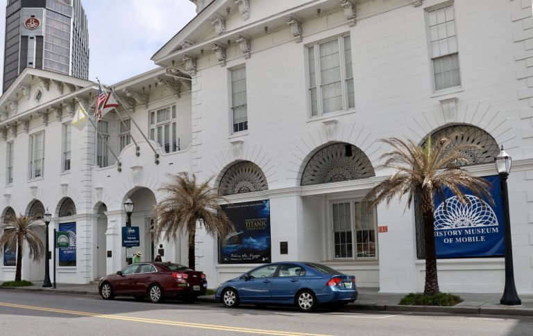 Mobile's long history is interpreted at the Museum of Mobile in the restored Southern Market/Old City Hall (1857).