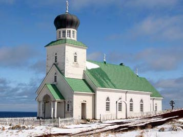 The Russian Orthodox Church, St. George, Alaska