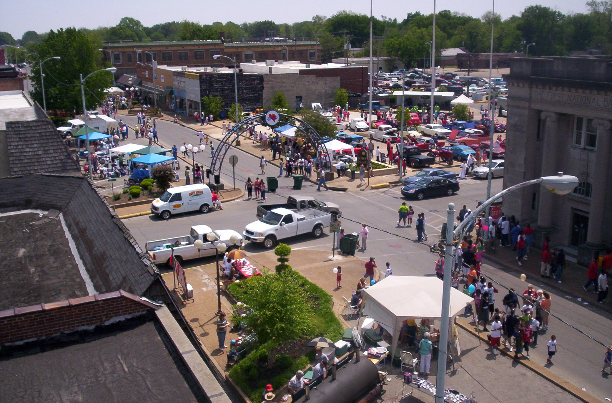 Annual Heritage Celebration on Blytheville, Arkansas' Historic Main Street.