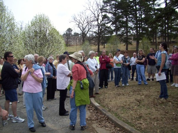 Tour of the historic 1910 Arkansas Tuberculosis Sanatorium in Booneville, listed on the National Register of Historic Places in 2006.