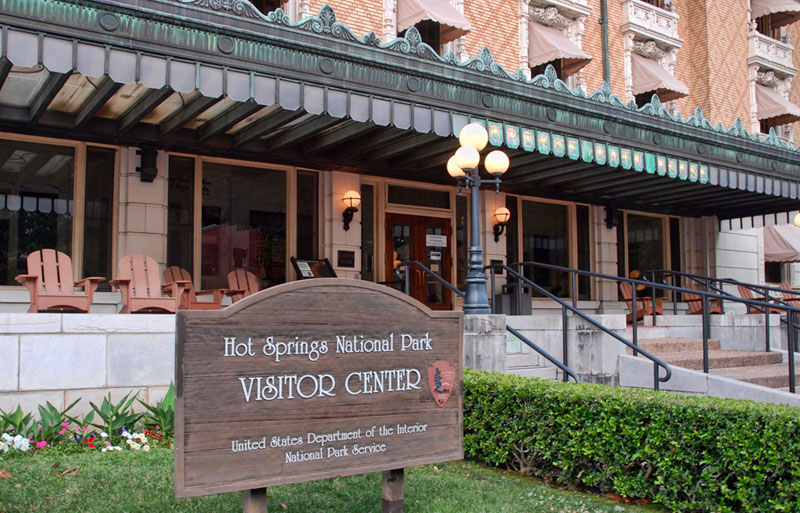 The Hot Springs National Park Visitors Center