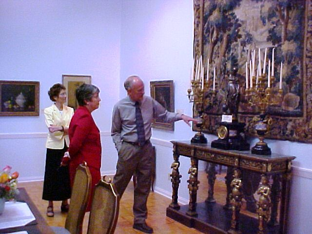 Former Arizona Governor Janet Napolitano tours the Renee Cushman Museum, which she named an Arizona Treasure