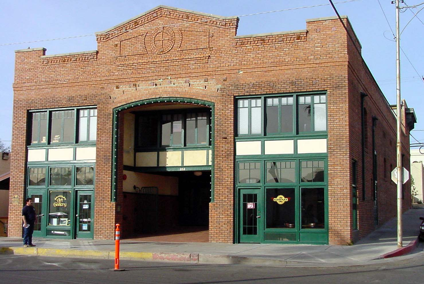 The historic Gandolfo Theatre, formerly a USO, was fully restored by a private party in partnership with the City of  Yuma using a Community Development Block Grant. It houses a restaurant, retail, and non-profit service agencies.