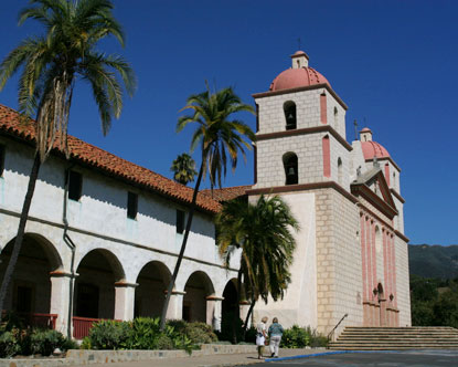 The Santa Barbara Mission, recognized as both a State and a National Historic Landmark, is still operated by the Church for its original purpose.