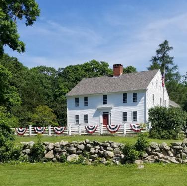 The Nathan Lester House, a 1793 farmstead including original outbuildings, is owned by the Town of Ledyard, Connecticut and open to the public.