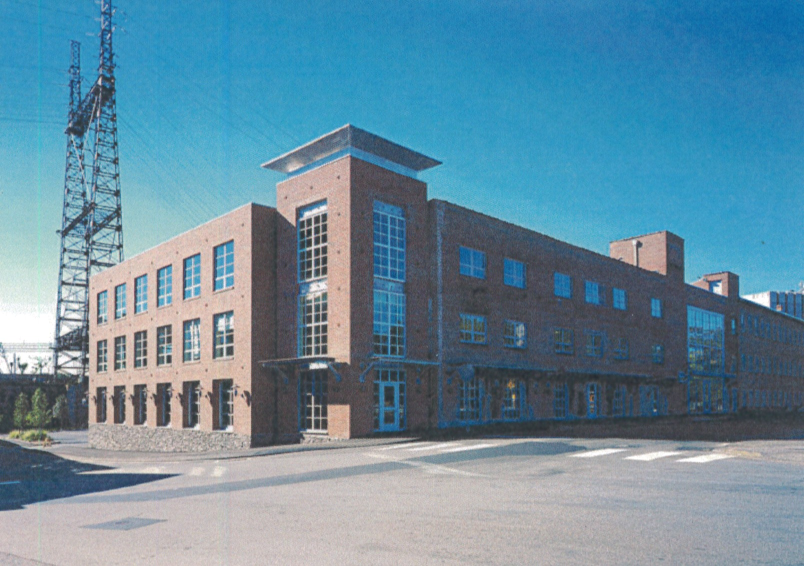 The Lock Company Building, a mid-19th century industrial building, has been transformed into the Lock Arts and Technology Center, providing retail space and office space for firms in the creative technology fields.