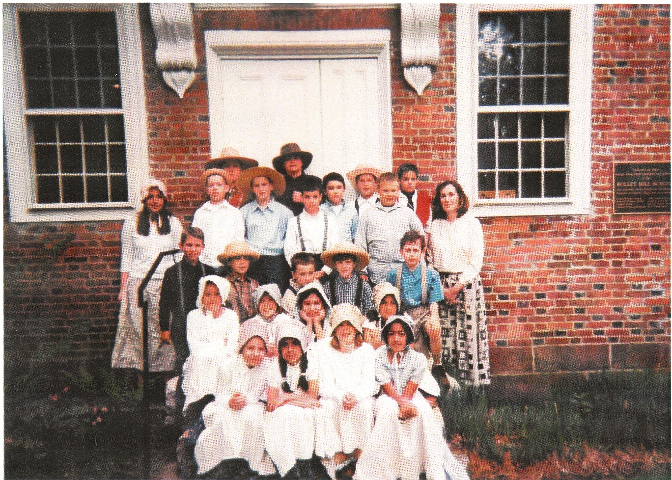 The Bullet Hill School (1762), a National Register of Historic Places-listed property, is the oldest public building in Southbury. Its living history program lets third graders spend at least a day at the school, where they experience lessons appropriate to the 1800s.