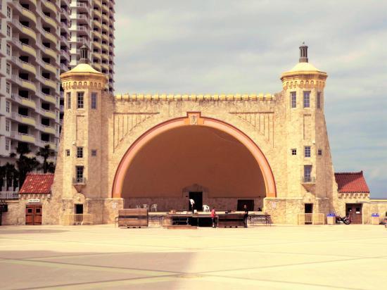 The Historic Bandshell On Daytona Beach Florida