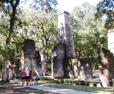 The largest sugar plantation on the east coast of Florida was located in Flagler County, and the plantation's grounds and ruins today comprise Florida's Bulow Plantation Ruins Historic State Park.