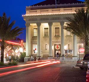 Several buildings in Gainesville, Florida, are listed on the National Register of Historic Places, including the former U.S. Federal Building and Post Office (1911), now home to the Hippodrome State Theatre.