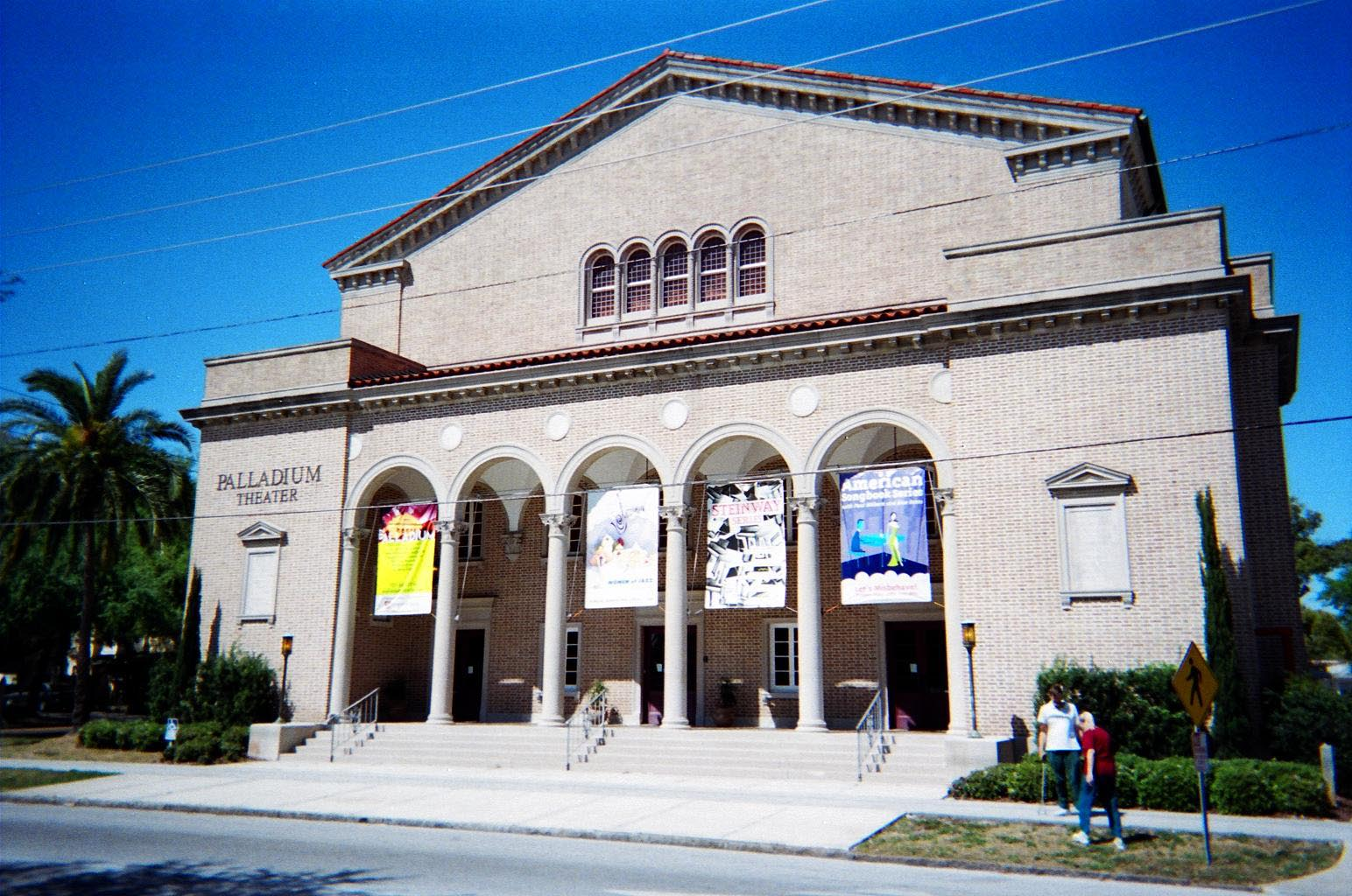 The Palladium Theater in St. Petersburg, Florida, is located in the former First Church of Christ Scientist, built in 1925. It is located in the North Shore Historic District.