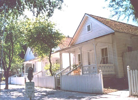 "Tampa relocated five ""casitas,"" or cigar worker houses, to the Ybor City Museum State Park. One of the casitas contains historic exhibits, while the others are leased to commercial tenants."