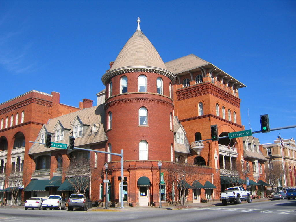 Built in 1892 to attract winter visitors from the north, the Windsor Hotel is a Victorian masterpiece designed with a tower and turret, balconies, and a three story atrium lobby.