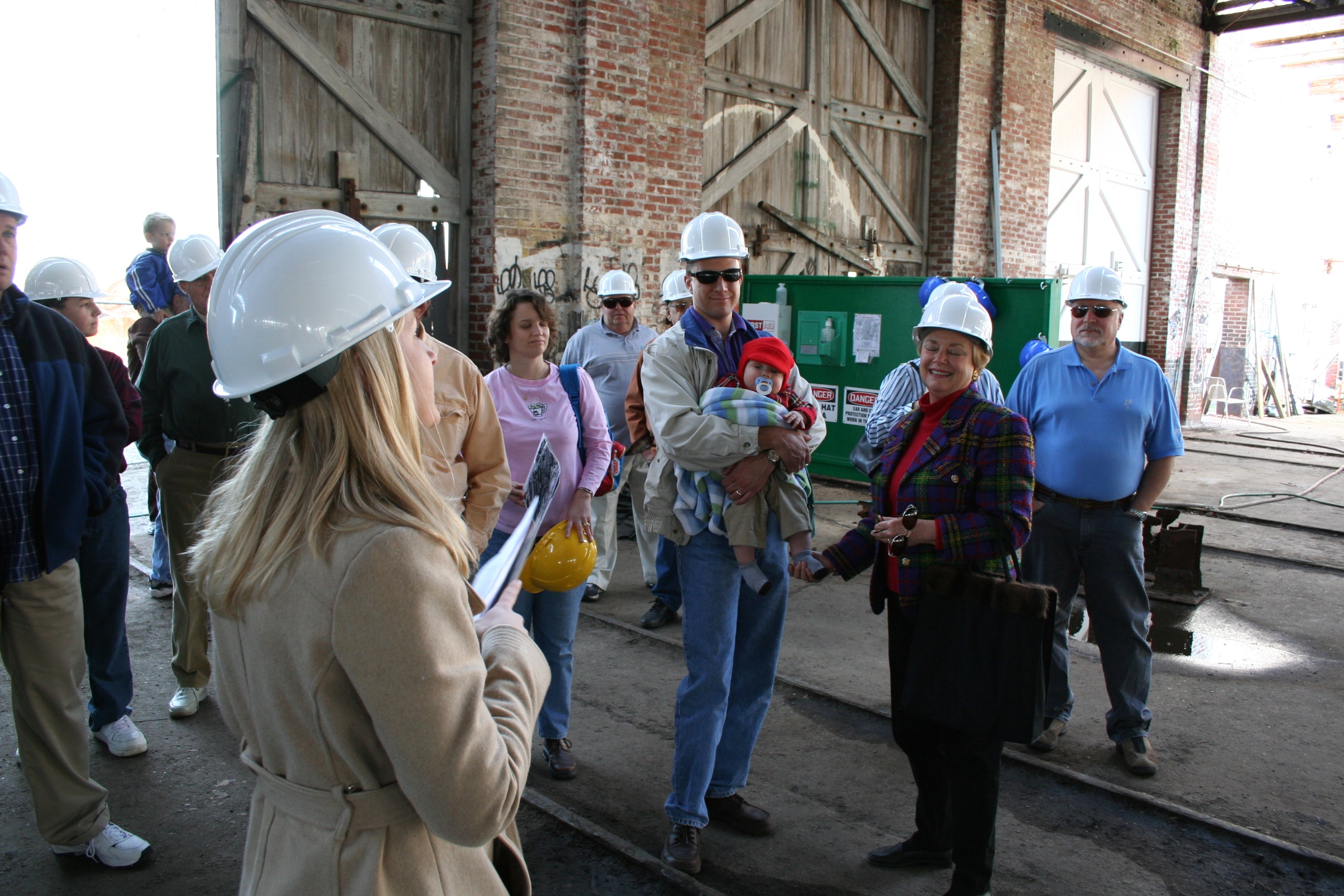 A hard hat tour of the Roundhouse Railroad Museum in Savannah, Georgia, a National Historic Landmark.