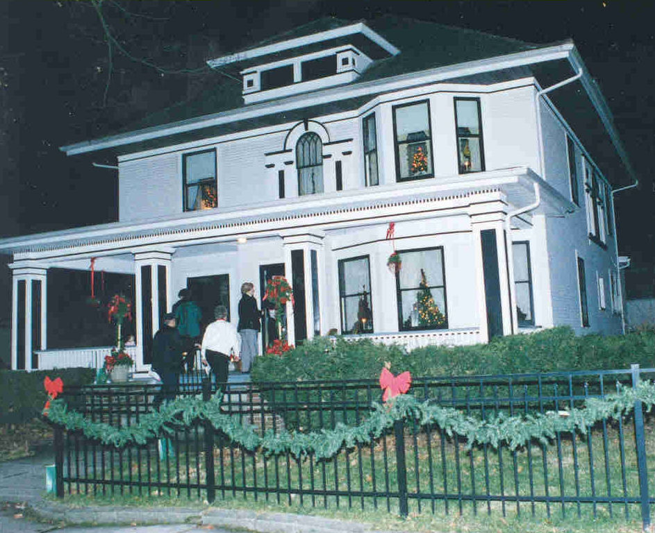 People Engaged in Preservation, La Porte, Indiana's local historic preservation organization, has organized an annual Candle-Light Tour of Historic Homes since 1996.