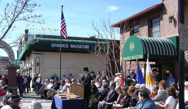 Celebrating the Centennial of Sparks, Nevada in 2005
