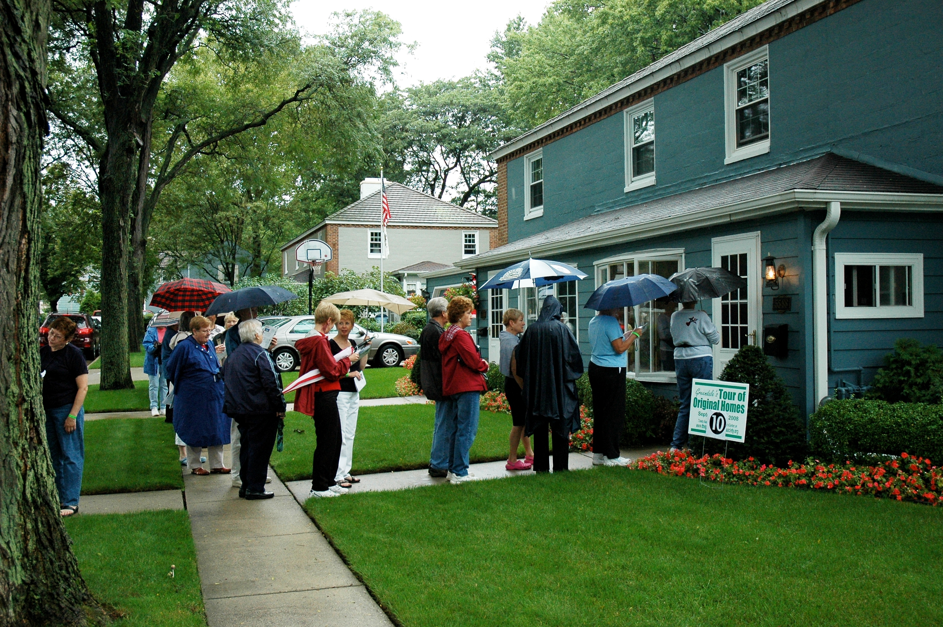 A public tour of Greendale's original 1938 homes.