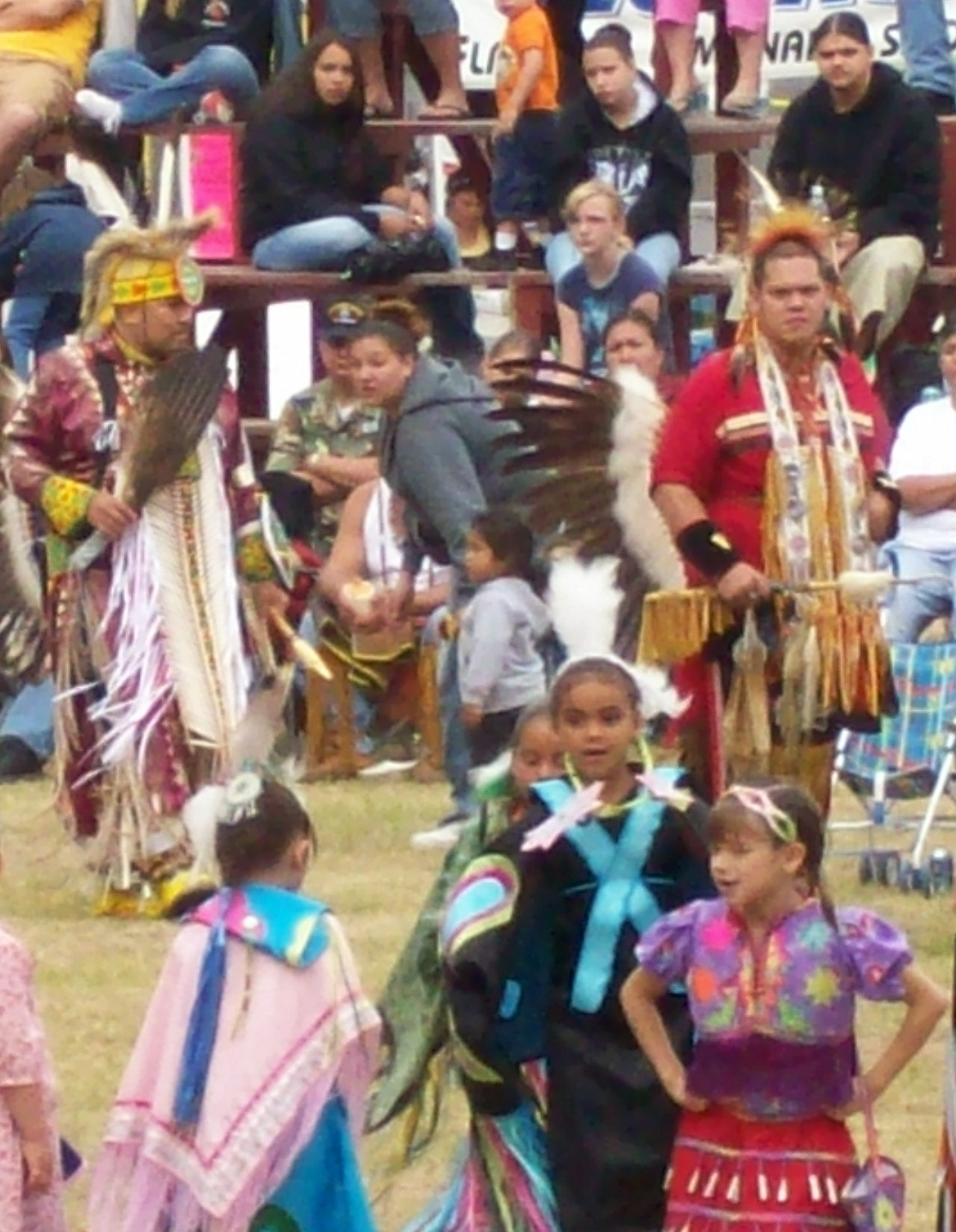 The Lac du Flambeau Bear River Pow Wow.
