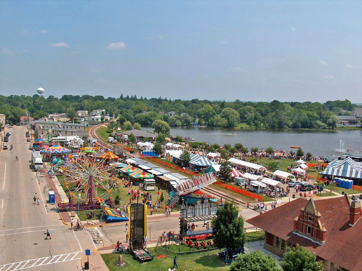 Whitewater's Waterfront Festival.