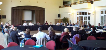 Consultation meeting for the Presidio Trust, San Francisco, California. Photo taken by ACHP staff.