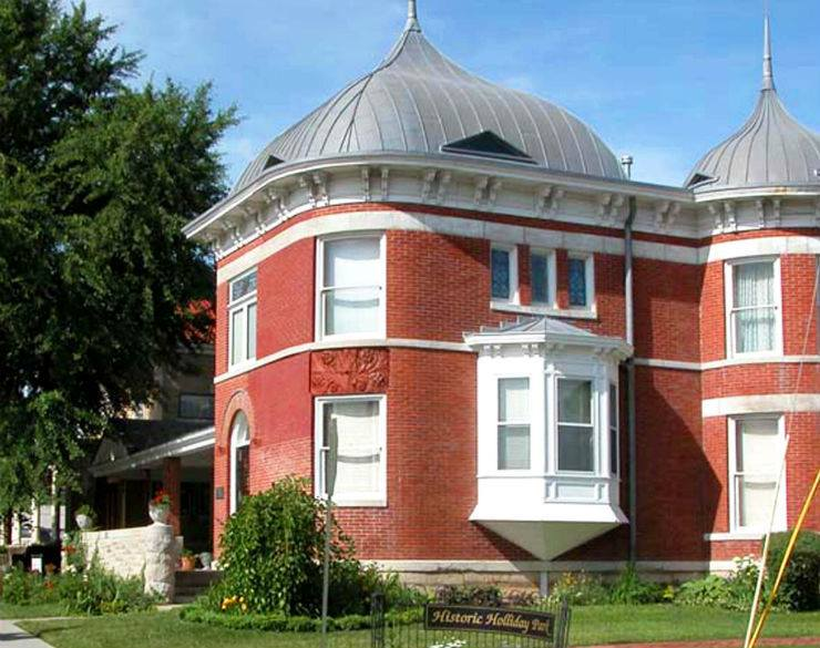 Charles Curtis home listed on the National Register of Historic Places