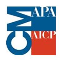 Logo for the American Planning Association/American Institute of Certified Planners (AICP)