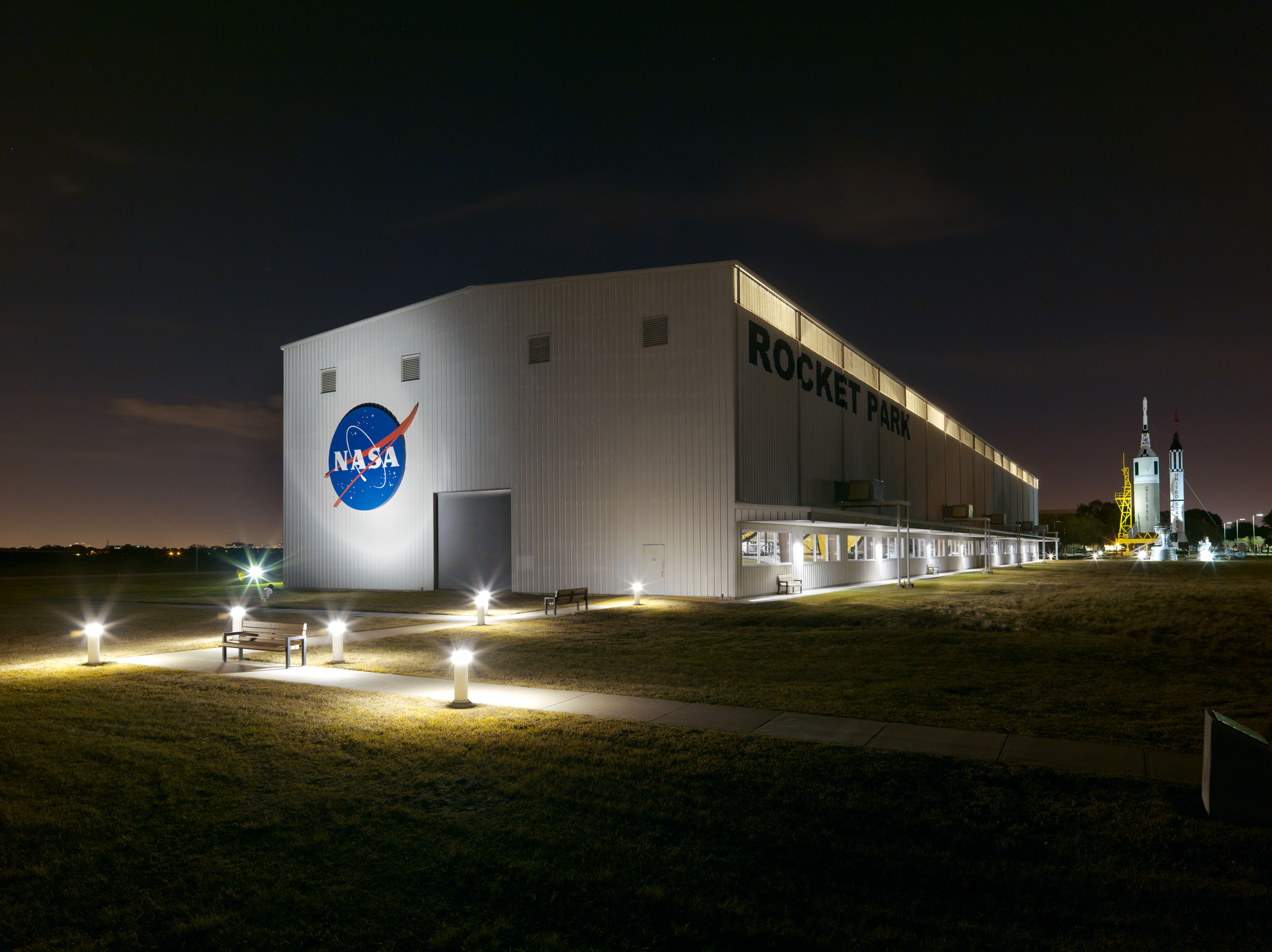 The Johnson Space Center in Texas