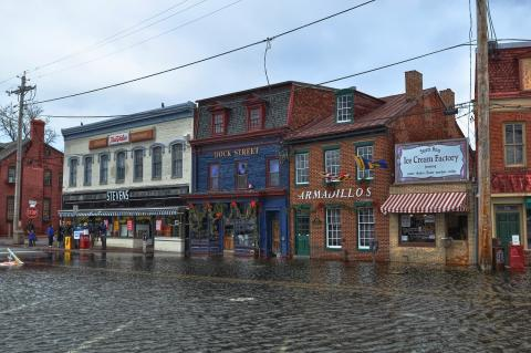 Annapolis, Maryland, flooding. (Photo credit: Forsaken Fotos.)