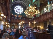 Tour of Eldridge Street Synagogue