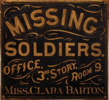 Clara Barton Missing Soldiers Office
