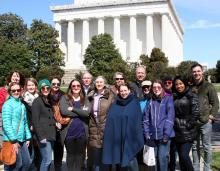 ACHP Staff at Lincoln Memorial