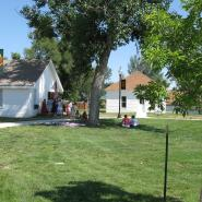 The historic Whitehall Schoolhouse in Windsor, Colorado