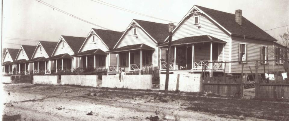 row of casitas