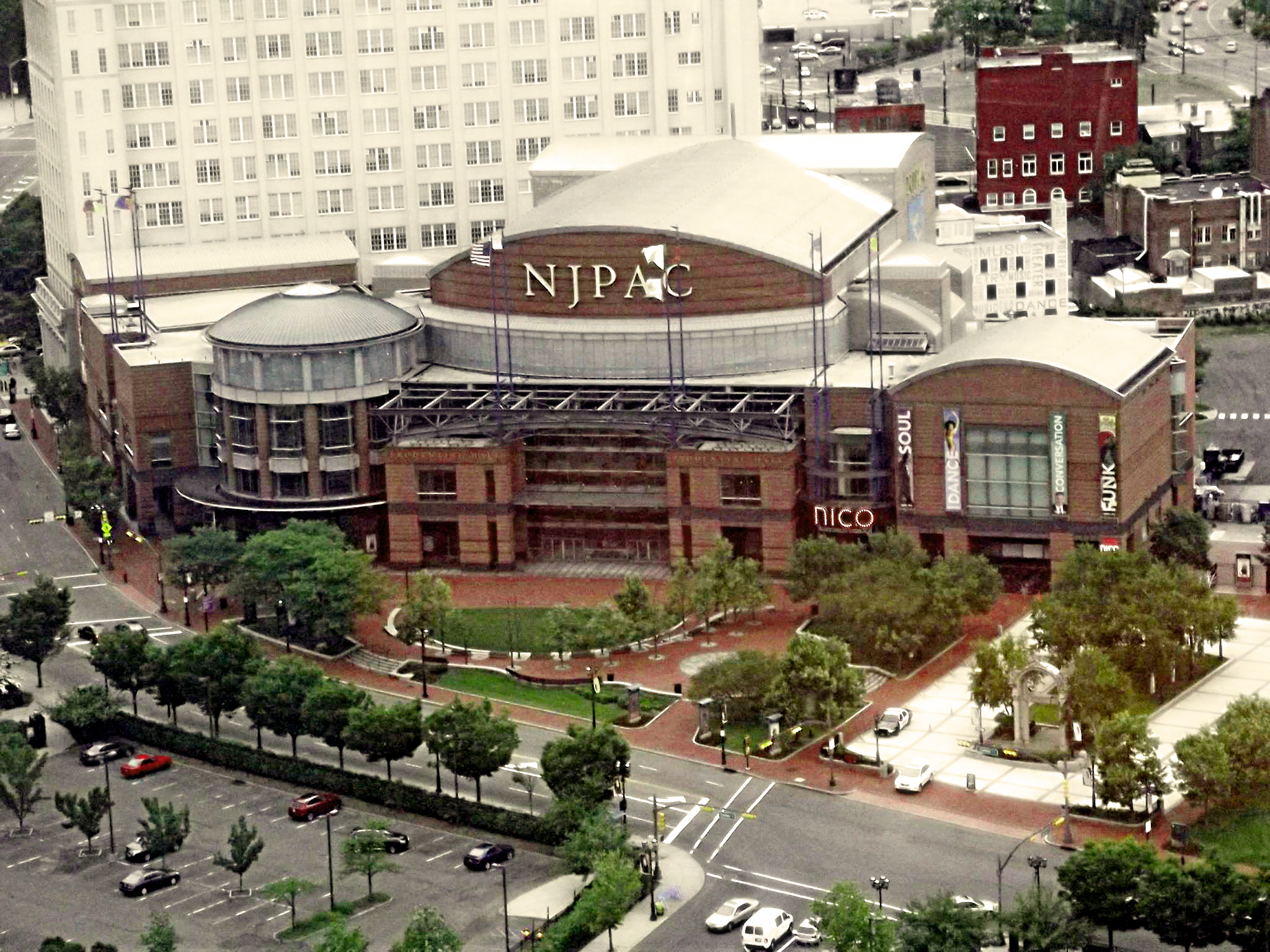 NJPAC from Above Summer 2013